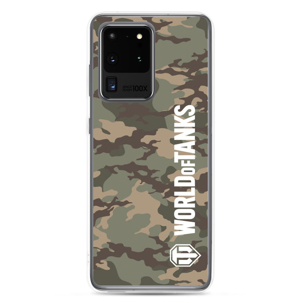 World of Tanks Classic Samsung Case Desert Camo