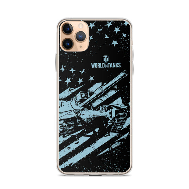 World of Tanks National iPhone Case USA Flag