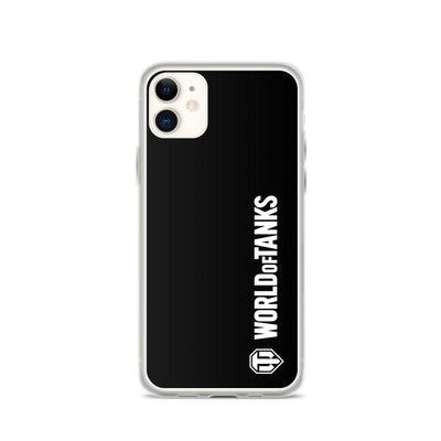 World of Tanks Classic iPhone Case Black