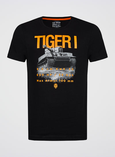 World of Tanks T-shirt Tiger I Specs