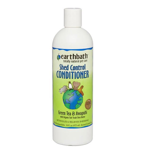 Earth Bath - Green Tea & Awapuhi Shed Control Conditioner (473ml) - {Wild Coast Pet Food}