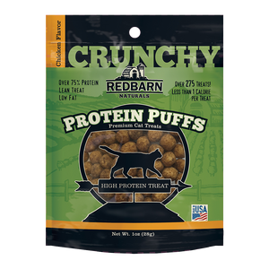 RedBarn - Protein Puffs Chicken Cat Treat 28g - {Wild Coast Pet Food}