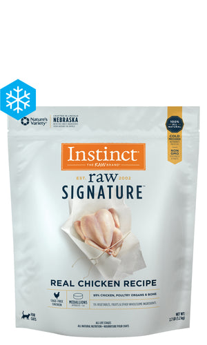 Instinct - Signature Raw Chicken Medallions 1.2Kg - {Wild Coast Pet Food}
