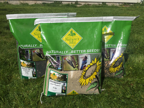 Natures Mix - Wild Bird Sunflower Chips (5kg) - {Wild Coast Pet Food}