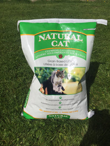 Natural Cat - Clumping Grain Litter (8kg)(18kg) - {Wild Coast Pet Food}