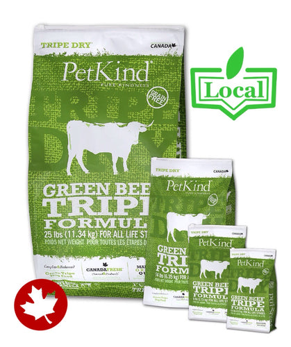 PetKind - Green Beef Tripe (11.34kg) - {Wild Coast Pet Food}
