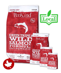 PetKind - Green Tripe & Wild Salmon (11.34kg) - {Wild Coast Pet Food}