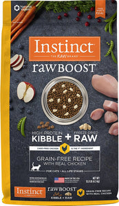Instinct - Raw Boost Chicken (2.2kg)(5.54kg) - {Wild Coast Pet Food}
