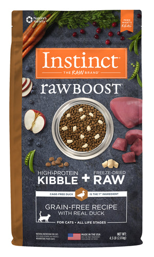 Instinct - Raw Boost Duck (2kg) - {Wild Coast Pet Food}