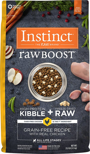 Instinct - Raw Boost Chicken (9.52kg) - {Wild Coast Pet Food}
