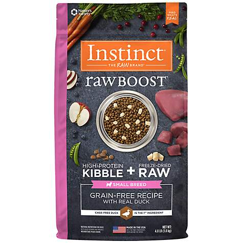 Instinct - Raw Boost Small Breed Duck (1.81kg) - {Wild Coast Pet Food}