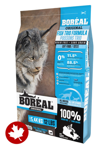 Boreal - Grain-Free Fish (2.26kg) - {Wild Coast Pet Food}