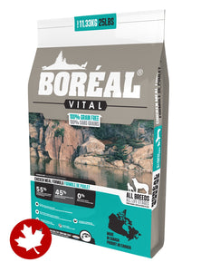 Boreal - Vital Grain-Free Chicken (11.36kg) - {Wild Coast Pet Food}