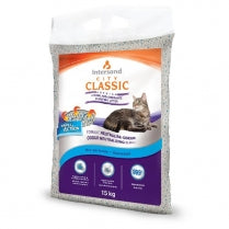 Intersand - Clumping Cat Litter (15kg) - {Wild Coast Pet Food}