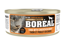 Boreal - Red Tuna, Chicken & Gravy (80g)(156g) - {Wild Coast Pet Food}
