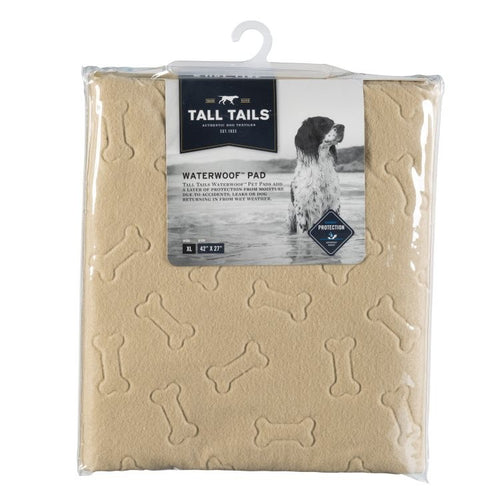 "Tall Tails - Waterwoof Pad 42""x 27"" - {Wild Coast Pet Food}"