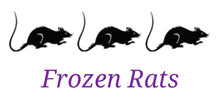 "Frozen Rats - Locally Raised (1"")(1.5"")(2"") - {Wild Coast Pet Food}"