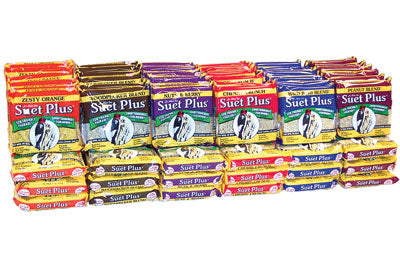 St. Albans Bay - Assorted No-Melt Suet Blocks (312g) - {Wild Coast Pet Food}