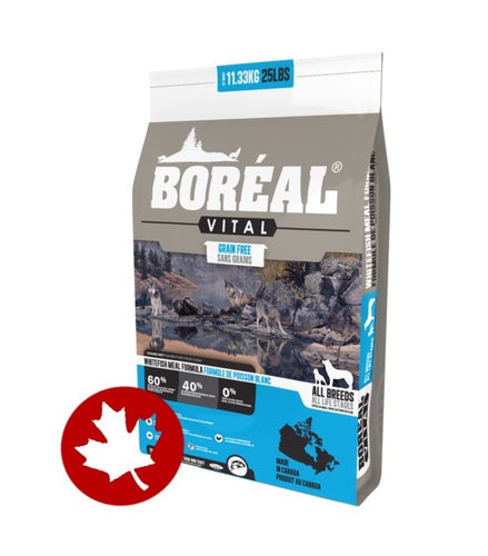 Boreal - Vital Grain-Free White Fish (11.33kg) - {Wild Coast Pet Food}