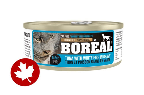 Boreal - Red Tuna, Whitefish & Gravy (80g)(156g) - {Wild Coast Pet Food}
