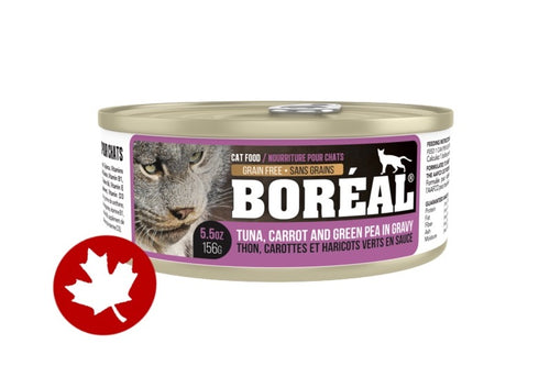 Boreal - Red Tuna, Carrot, Pea & Gravy (156g) - {Wild Coast Pet Food}