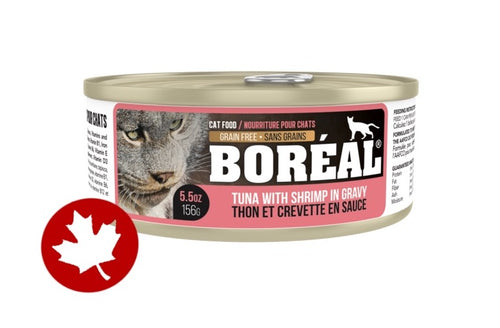 Boreal - Red Tuna, Shrimp & Gravy (156g) - {Wild Coast Pet Food}
