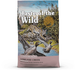 Taste of the Wild - Lowland Creek Feline (5lb)(14lb) - {Wild Coast Pet Food}