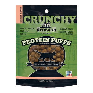 RedBarn - Protein Puffs Salmon Cat Treat 28g - {Wild Coast Pet Food}