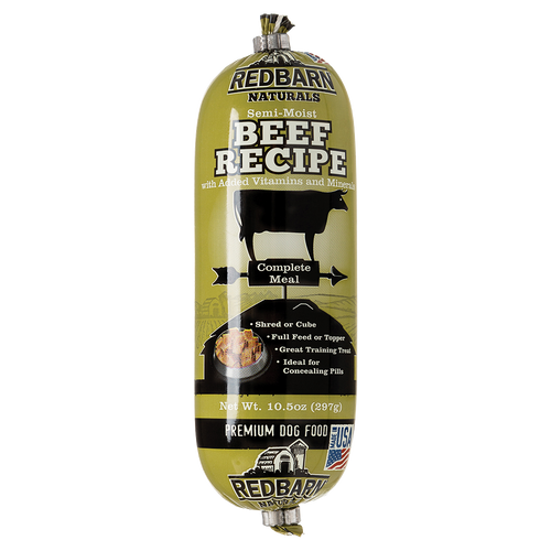 RedBarn - Beef Roll 298g - {Wild Coast Pet Food}