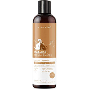 Kin Organics - Oatmeal Dog & Cat Shampoo 12oz - {Wild Coast Pet Food}