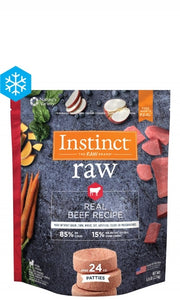 Instinct - Raw Beef Patties (2.72kg) - {Wild Coast Pet Food}