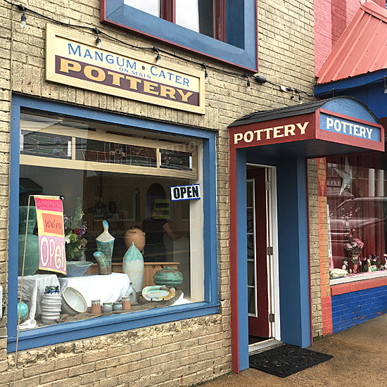 NC pottery studio and gallery