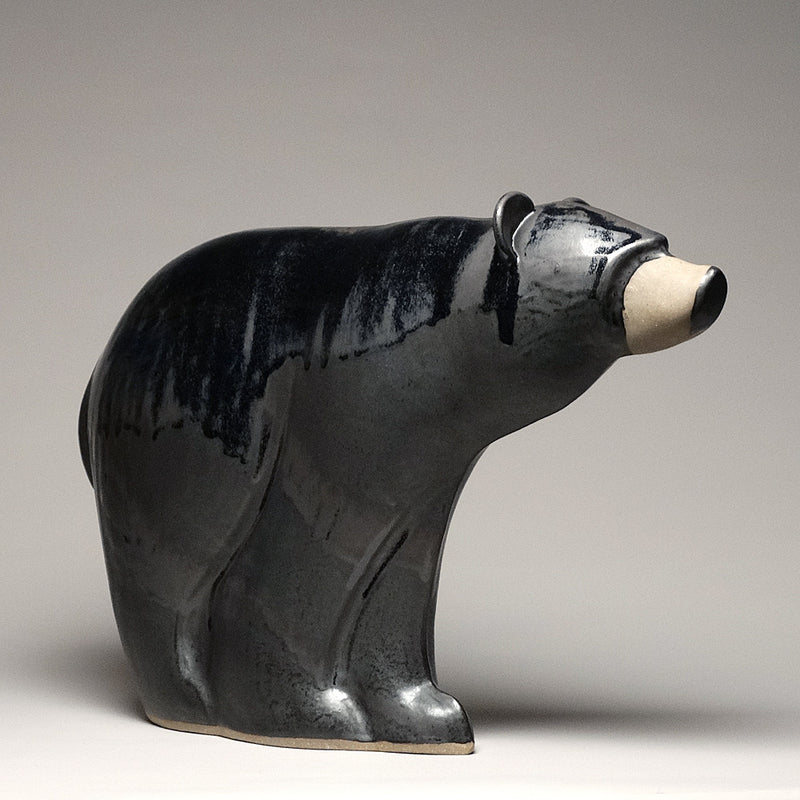 Pottery Bear Sculpture