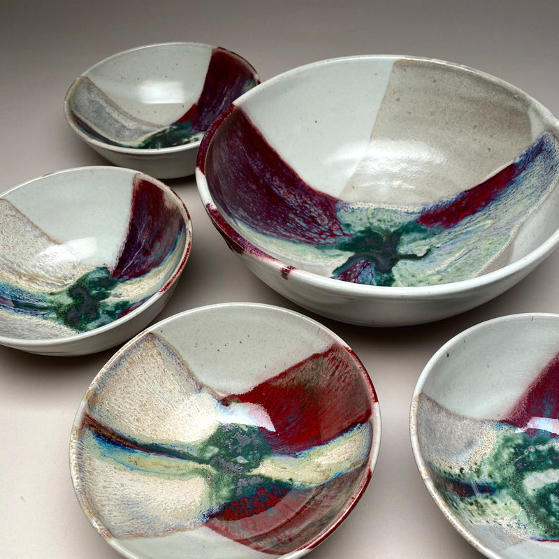 Medium Bowl Set Springtime