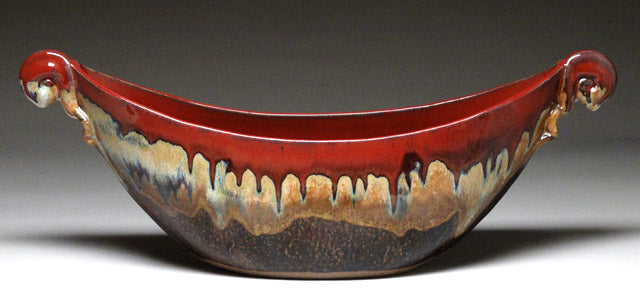 Boat Bowl in Autumn Glaze