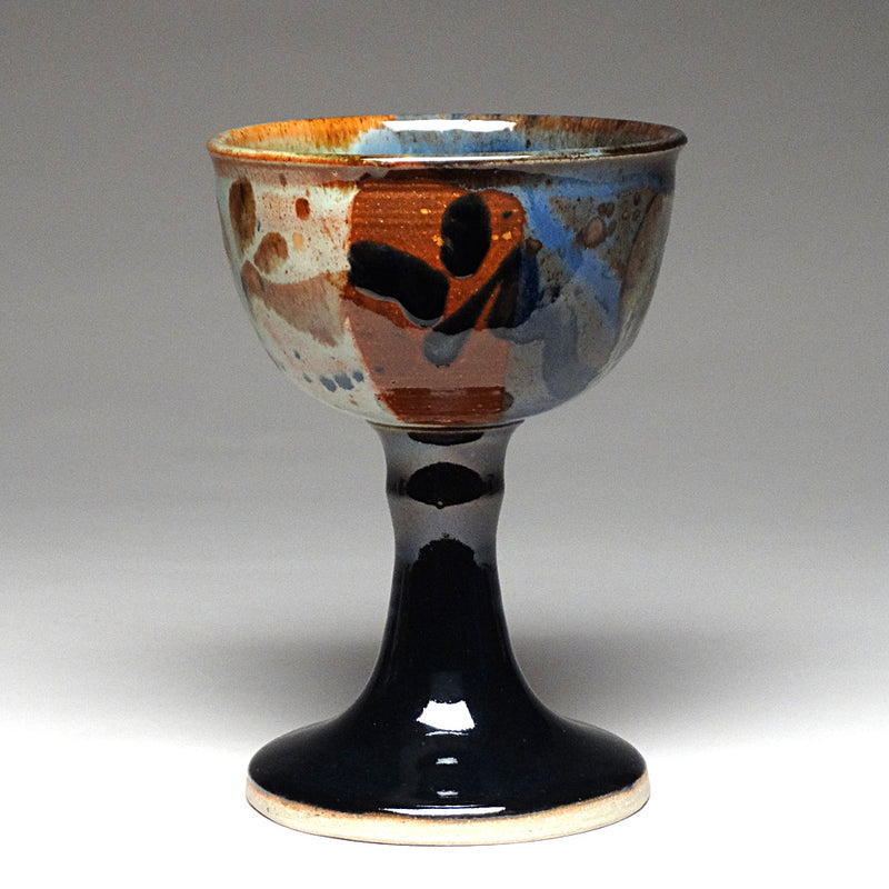 Chalice in Multi Glaze