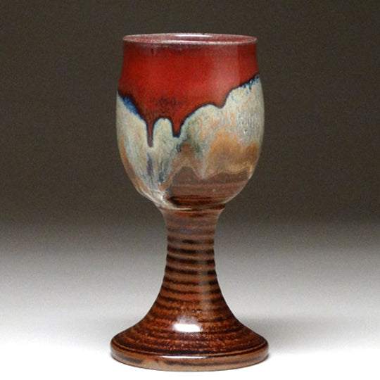 Goblet in Autumn Glaze
