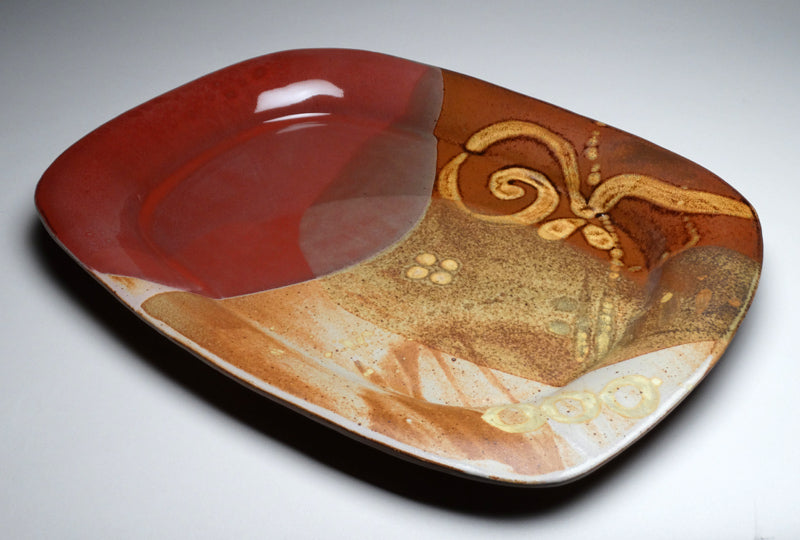 Large Serving Platter in Chautauqua Glaze