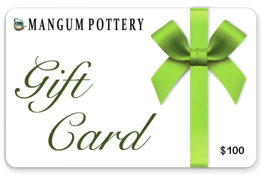 Mangum Pottery Gift Card