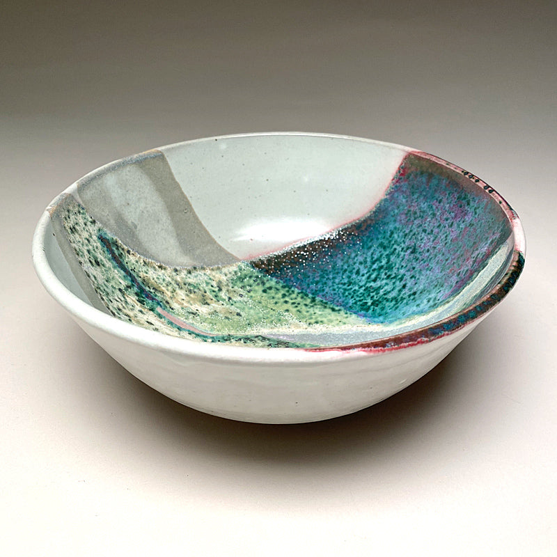 Medium Serving Bowl in Springtime