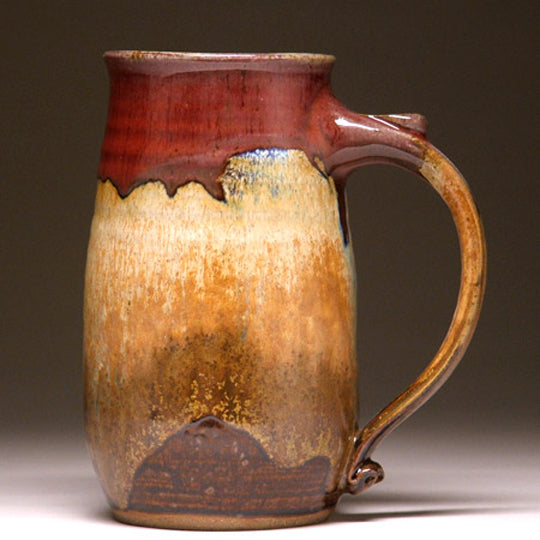 Handcrafted Pottery Large Mug By Mangum Pottery