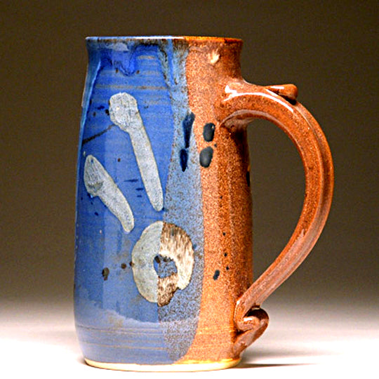 Large Mug in Multi Glaze