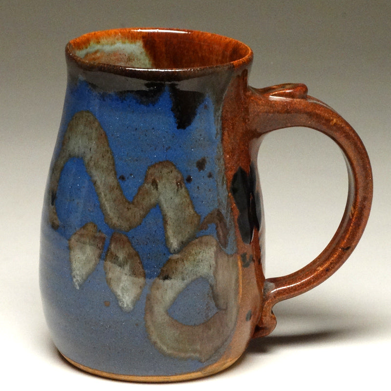 Pint Mug in Multi Glaze