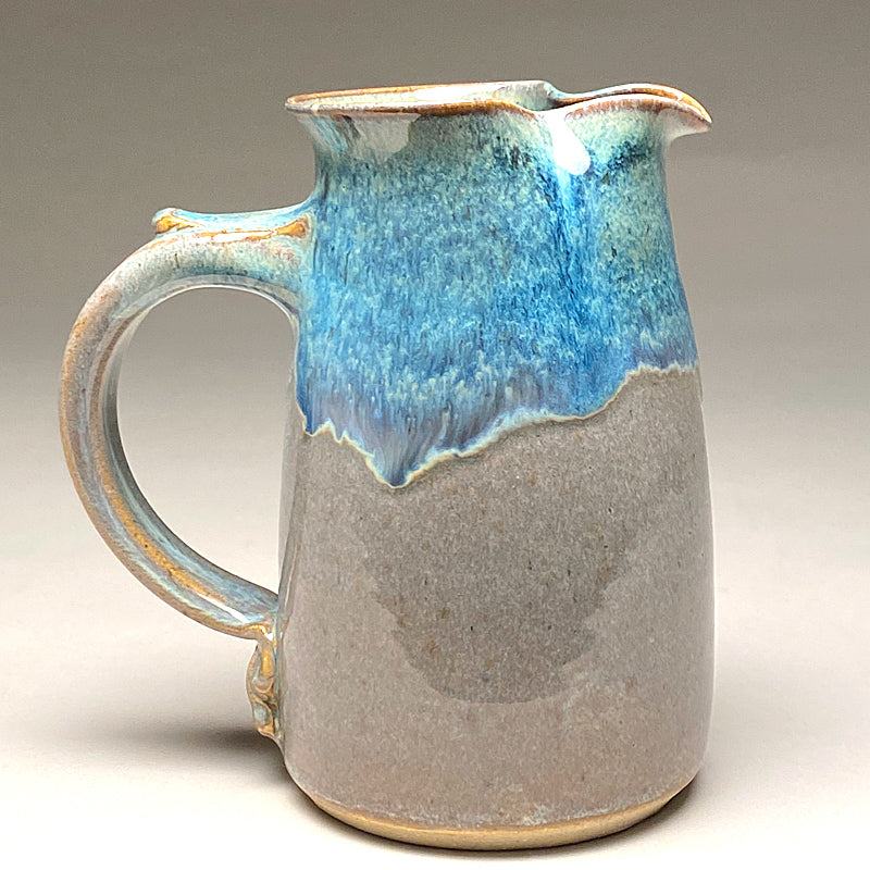 Wheelthrown Pitcher in Blue Ridge