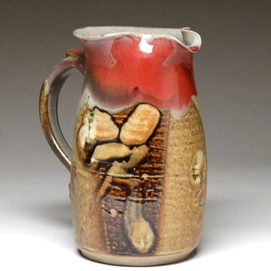 Wheelthrown Pitcher in Chautauqua Glaze