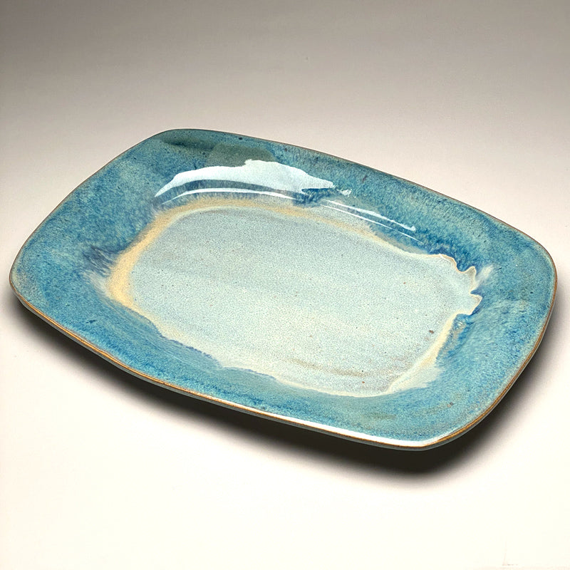 Medium Serving Platter in Blue Ridge