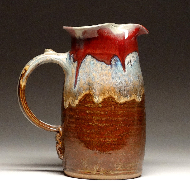 Wheelthrown Pitcher in Autumn Glaze