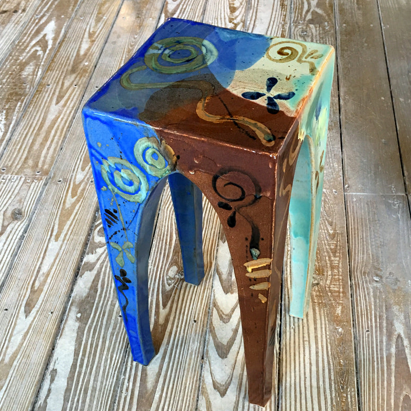 Ceramic End Table