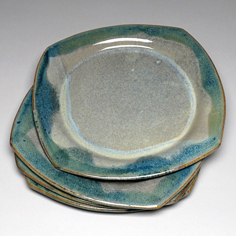 Salad Plate in Blue Ridge Glaze