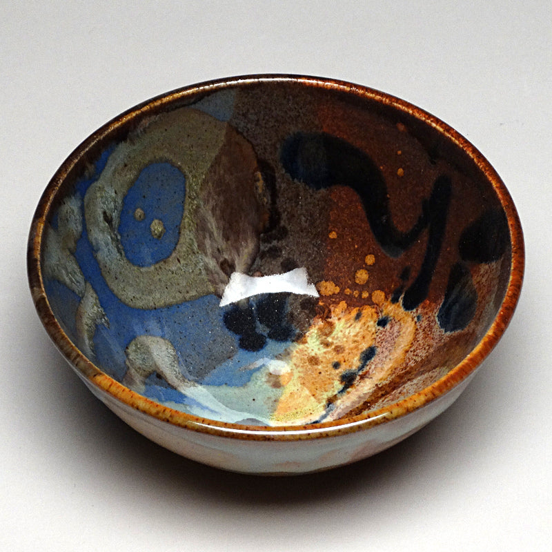 Small Bowl in Multi Glaze